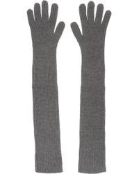 Stella McCartney | Ribbed Wool Gloves | Lyst