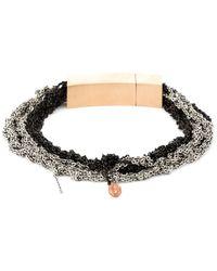 Arielle De Pinto | Crocheted Chain Bracelet | Lyst