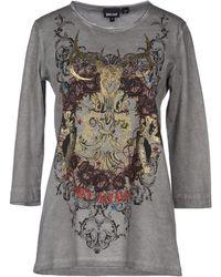 Just Cavalli Long Sleeve Tshirt - Lyst