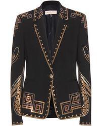 Emilio Pucci Embellished Blazer - Lyst