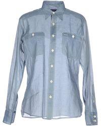 Ralph Lauren Collection Shirt blue - Lyst