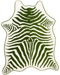Maslin & Co. Foliage Zebra Beach Towel - Lyst