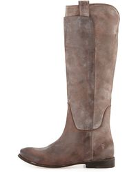 Frye - Paige Leather Riding Boots - Lyst