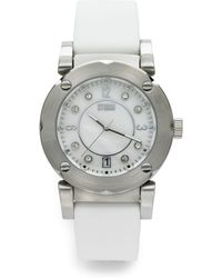 Storm - Parazzi Stainless Steel Rubber Watch - Lyst