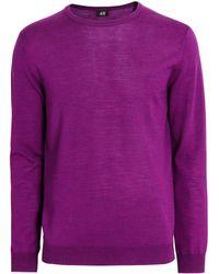 H&M | Merino Wool Jumper | Lyst