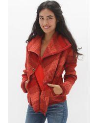Goddis - Ivy Knit Jacket In Scarlet - Lyst