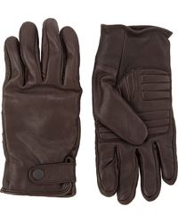 Theory Raus Gloves - Lyst