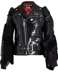 Junya Watanabe Petal Sleeve Biker Jacket - Lyst
