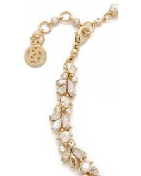 Ben-Amun - Crystal Wreath Ombre Necklace - Ombre Shadown Crystal Gold - Lyst