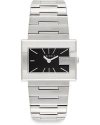 Gucci Stainless Steel G Bracelet Watch - Lyst