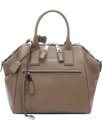 Marc Jacobs Peony Leather Leather Large Incognito Convertible Trapeze Bag - Lyst