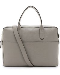 Ben Minkoff - Embossed Leather Fulton Briefcase - Lyst
