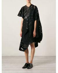 Junya Watanabe Structured Appliqué Dress - Lyst