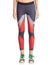 Ultracor Sprinter Printed Leggings red - Lyst