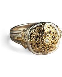 Konstantino Ornate Diamond Ring - Lyst