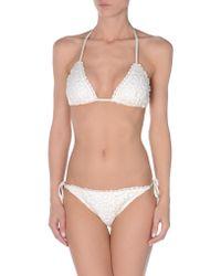Brigitte Bardot Bikini - White