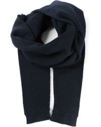 Christophe Lemaire - Ribbed Edges Scarf - Lyst
