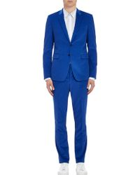 Paul Smith Exclusive Corduroy Twobutton Suit - Lyst