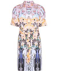 Mary Katrantzou Lorda Printed Cotton Dress - Lyst