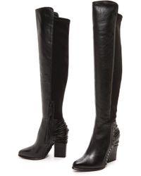 Dolce Vita Nikka Boots  Black - Lyst
