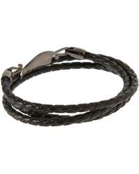 Simon Carter - Exclusive Asos Woven Leather Bracelet - Lyst