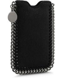 Stella McCartney Falabella Card Holder - Black