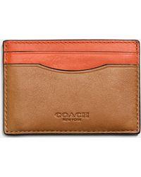 COACH | Card Case In Sport Calf Leather | Lyst