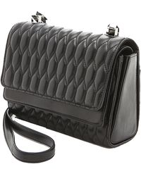 Theyskens' Theory Theyskens' Theory Sarah Acap Quilted Bag black - Lyst