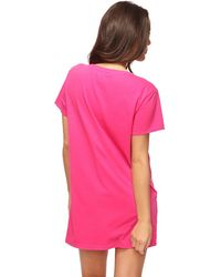 Forever 21 Lucy & Snoopy Nightdress - Pink