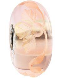 Trollbeads - Engraved Romance Fine Italian Glass Bead - Lyst