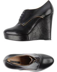 Longchamp Lace-up Shoes - Brown