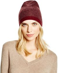 Theory - Hody Colour Block Cashmere Beanie - Bloomingdale's Exclusive - Lyst