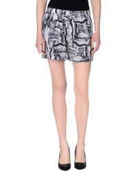 American Vintage Shorts gray - Lyst