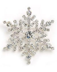 R.j. Graziano - Snowflake Pin - Lyst