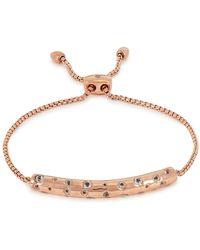 Monica Vinader Esencia Scatter Rose Gold-plated Bracelet - Pink