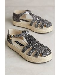Susana Traça | Glitter Sandal With Rubber Sole | Lyst