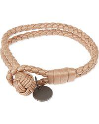 Bottega Veneta - Intrecciato Nappa-leather Bracelet - Lyst