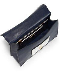 Miu Miu Madras Bicolor Mini Top Handle Bag - Lyst