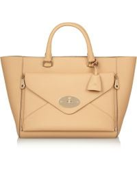Mulberry The Willow Leather Tote - Lyst