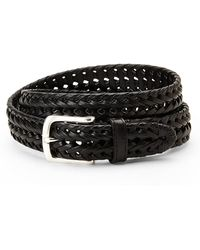 Dockers Black Braided Belt - Lyst