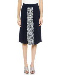Giulietta - Sequined Pleat Skirt - Lyst