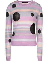 Sister by Sibling Long Sleeve Sweater - Purple