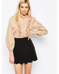 Sister Jane | Camelia Ruffle Blouse | Lyst