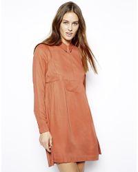 Twenty 8 Twelve Shirt Dress - Lyst