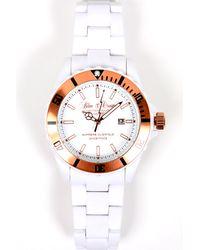 Blue & Cream Ghostface Timepiece - White