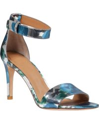 Marc By Marc Jacobs | Jeffi Metallic-Leather Sandals | Lyst