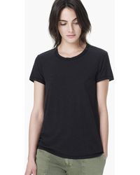 James Perse Spaced Jersey Crew Neck Tee - Lyst