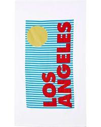 Nasty Gal Sisters Of Los Angeles La Beach Towel - Lyst