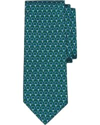 Brooks Brothers Circle Print Tie - Lyst