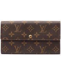 Louis Vuitton Monogram Long Wallet - Lyst